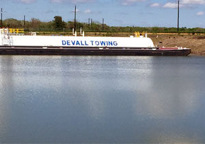 Photo of Devall Towing barge DBL 705